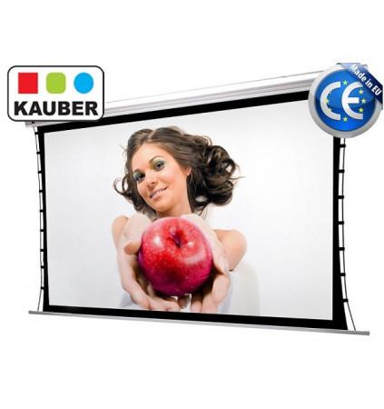 Ekran elektryczny Kauber Blue Label Tensioned GrayPro