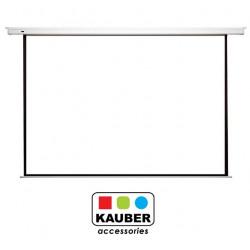 Ekran elektryczny Kauber Econo Electric 200 x 150cm +BG 16:9