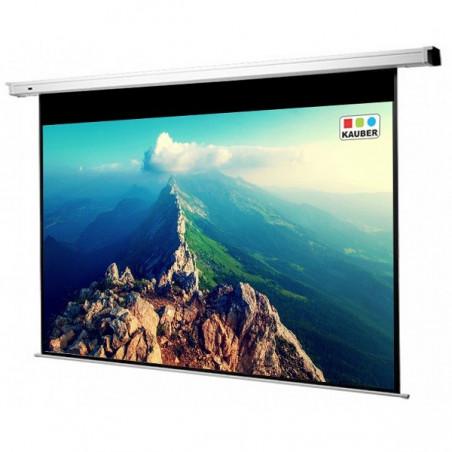 Ekran elektryczny Kauber Econo Electric 200 x 164cm+BG 16:10