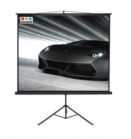Ekran na statywie Kauber Econo Mobil Tripod 178 x 178 cm 1:1