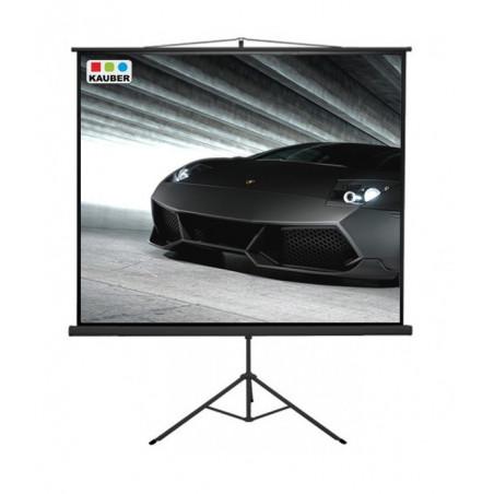 Ekran na statywie Kauber Econo Mobil Tripod 152 x 152 cm 1:1