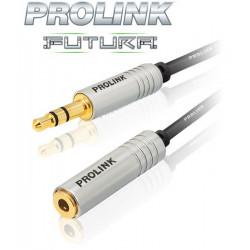 Prolink Futura Slim Przedłużacz wtyk - gniazdo mini-Jack 3.5mm - 5m