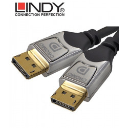 Kabel Przewód DisplayPort HD Lindy Cromo 41530 0.5m