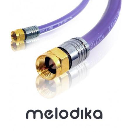 Kabel antenowy Melodika MDF200 Wtyk-Wtyk F 20m