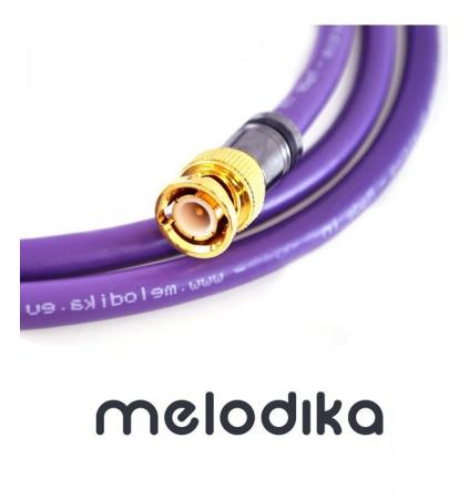 Melodika MDBN05 Profesjonalny kabel BNC-BNC 0.5m