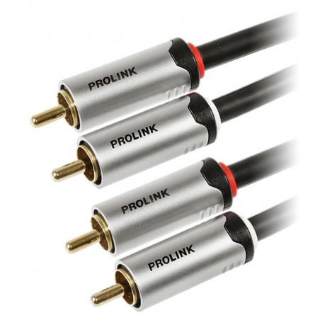 Prolink Futura FTC 101 0.5m kabel 2 RCA