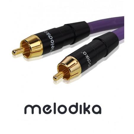 Kabel Coaxial 1 RCA - 1 RCA Melodika MDCX100 - 10m