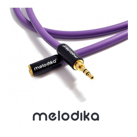 Melodika MDPMJ10 - Przedłużacz Jack 3.5mm Stereo 1m