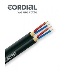 Kabel mikrofonowy stereo symetryczny Cordial CMK 422 0.22mm2
