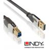 Kabel USB 3.0 Lindy Cromo typu A - B