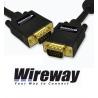 Kabel (przewód) VGA (D-Sub) WireWay WW320002 1.5m