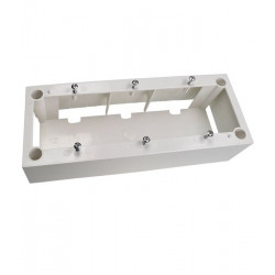 Puszka instalacyjna natynkowa P3 MOSAIC 22.5 x 45mm
