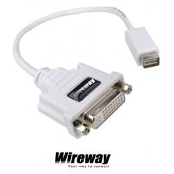 Przejściówka Adapter DVI na miniDVI HD WireWay