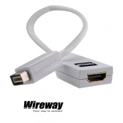 Adapter WireWay mini DVI - HDMI