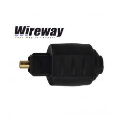 Przejściówka Adapter optyczny Jack Toslink WireWay