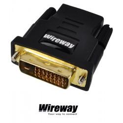 Przejściówka / Adapter HDMI - DVI WireWay