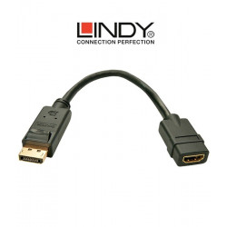 Konwerter DisplayPort - HDMI Lindy 41005