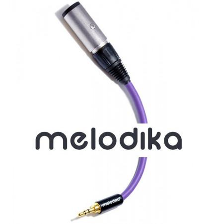 Przejściówka Jack 6.3 mm - mini Jack 3.5 mm Melodika MDPMJGJ02