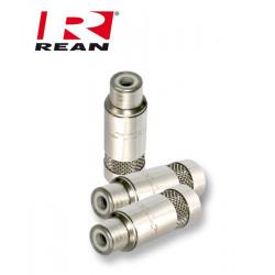 Niklowane Gniazdo RCA REAN / Neutrik NYS 372P
