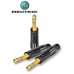 Wtyk Jack STEREO 6.3 mm męski Neutrik NP3X-B