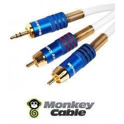 Kabel Jack 3.5 Stereo - 2RCA MonkeyCable Concept MCTJ2P