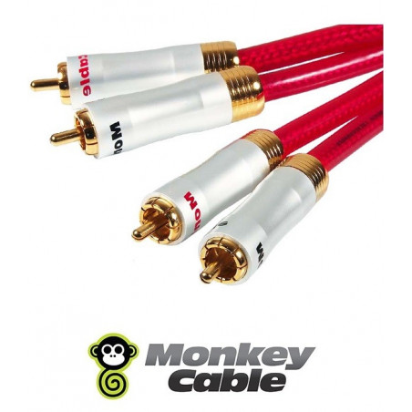 Kabel 2xRCA MonkeyCable Clarity MCYANA0 Concept 2m