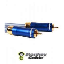 Kabel audio 1RCA do subwoofera MonkeyCable Clarity MCYSUB