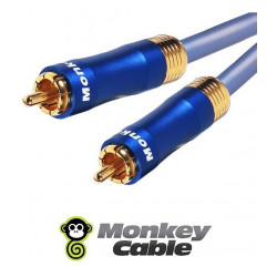 Kabel audio 1RCA do subwoofera MonkeyCable Clarity MCYSUB
