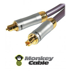 Kabel optyczny TOSLINK MonkeyCable Clarity MCYOPT1 - 1m