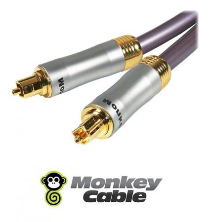 Kabel optyczny TOSLINK MonkeyCable Clarity MCYOPT1 - 1m