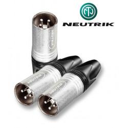 Wtyk XLR 3-pinowy męski Neutrik NC3MXX