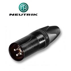 Wtyk XLR 3-pinowy męski Neutrik NC3MXX-BAG