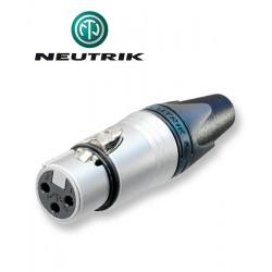 Wtyk XLR 3-pinowy żeński Neutrik NC3FXX
