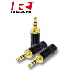 Wtyk mini Jack 3.5 STEREO przewód 8mm REAN / Neutrik NYS 231BG-LL