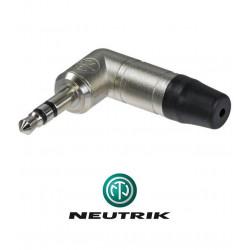 Kątowy wtyk mini Jack STEREO 3.5 mm męski Neutrik NTP3RC