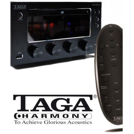 Wzmacniacz hybrydowy z odtwarzaczem CD TAGA HARMONY HTR-1000CD