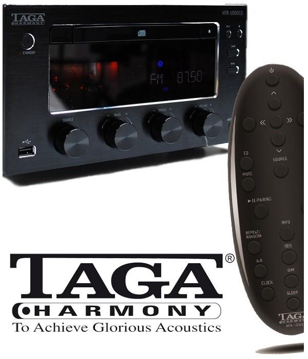 Lampowy przedwzmacniacz słuchawkowy TAGA HARMONY THA-200