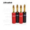 Komplet 4 wtyków bananowych Ultralink UL-0534