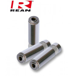 Niklowane Gniazdo mini Jack 3.5mm STEREO REAN / Neutrik NYS-240
