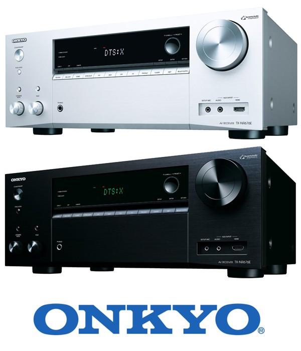Amplituner sieciowy kina domowego Onkyo TX-NR676E