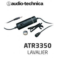 Mikrofon pojemnościowy typu Lavalier Audio-Technica ATR3350