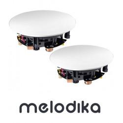 Głośniki instalacyjne do zabudowy Melodika BLI8 (komplet 2 sztuk)