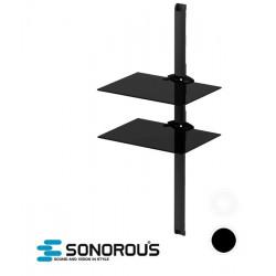 Półka ścienna szklana do sprzętu audio-wideo Sonorous PL2620
