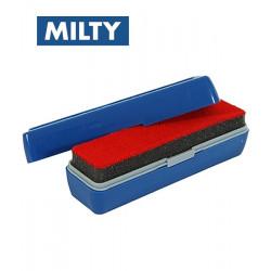 Szczotka do czyszczenia płyt winylowych Milty Duopad Blue MI0040