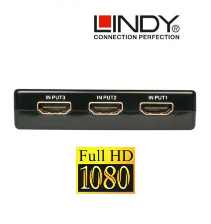 Switch / przełącznik HDMI Lindy 38034 (3xIN-1xOUT)