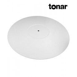 Mata gramofonowa TONAR Pure White Perspex Mat