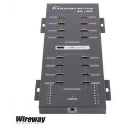 Rozdzielacz / splitter HDMI 4K UHD Wireway 9369 (1xIN - 16xOUT)