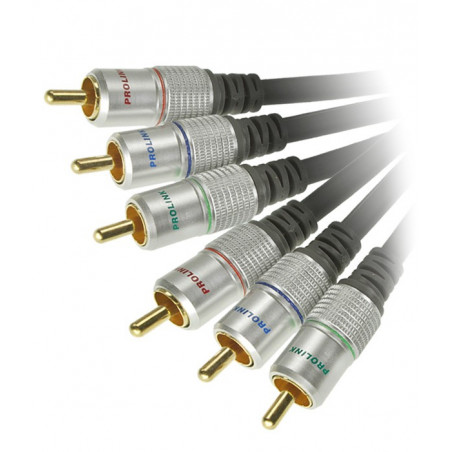 Prolink Exclusive TCV 5250 10m kabel 3 RCA Component