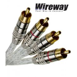 Kabel 2RCA - 2RCA Wireway WW220100 - 10m