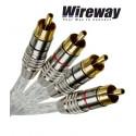 Kabel 2RCA - 2RCA Wireway WW220150 - 15m